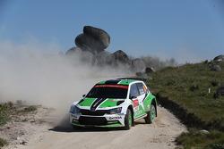 Esapekka Lappi y Janne Ferm, Skoda Motorsport Skoda Fabia R5