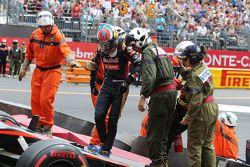Авария Макса Ферстаппена, Scuderia Toro Rosso и Ромена Грожана, Lotus F1 Team