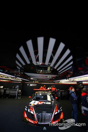 #3 Belgian Audi Sport Team WRT Audi R8 LMS ultra: Stéphane Richelmi, Stéphane Ortelli, Frank Stippler