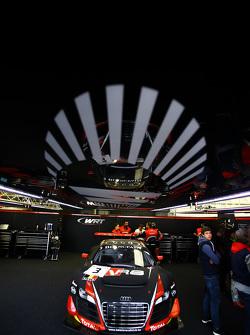 #3 Belgian Audi Sport Team WRT Audi R8 LMS ultra: Stéphane Richelmi, Stéphane Ortelli, Frank Stipple