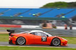 #51 AF Corse, Ferrari 458 Italia: Duncan Cameron, Matthew Griffin