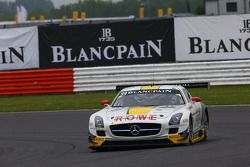 #99 Rowe Mercedes SLS AMG GT3: Nico Bastian, Klaus Graf, Stef Dusseldorp