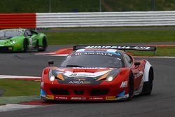 #16 Akka ASP Ferrari 458 Italia: Fabien Barthez, Anthony Pons