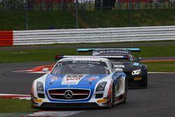 #71 GT Russian Team, Mercedes SLS AMG GT3: Alexey Vasilyev, Marko Asmer