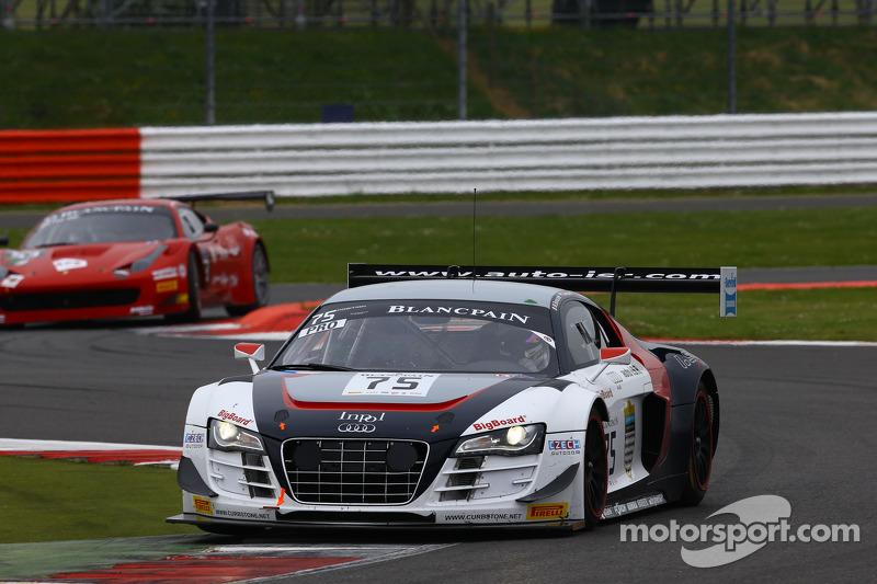 #75 ISR Audi R8 LMS Ultra: Filip Salaquarda, Marco Bonanomi, Frederic Vervisch