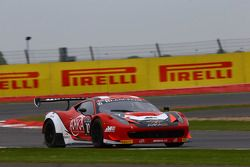 #10 Akka ASP Ferrari 458 Italia: Ludovic Badey, Maurice Ricci