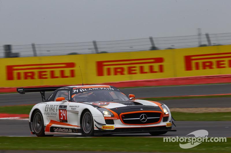 #34 Car Collection Motorsport, Mercedes SLS AMG GT3: Alexander Mattschull, Pierre Ehret