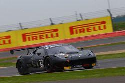 #66 Black Pearl Racing by Rinaldi, Racing Ferrari 458 Italia: Steve Parrow, Pierre Kaffer