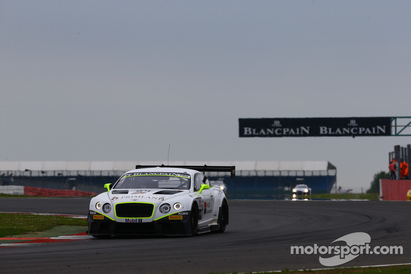 #84 Bentley Team HTP, Bentley Continental GT3: Mike Parisy, Harold Primat, Vincent Abril