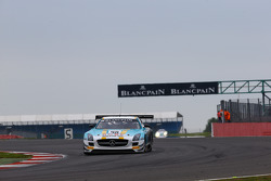 #98 Team Astana by Rowe Mercedes SLS AMG GT3: Nicolai Sylvest, Indy Dontje, Daniel Juncadella