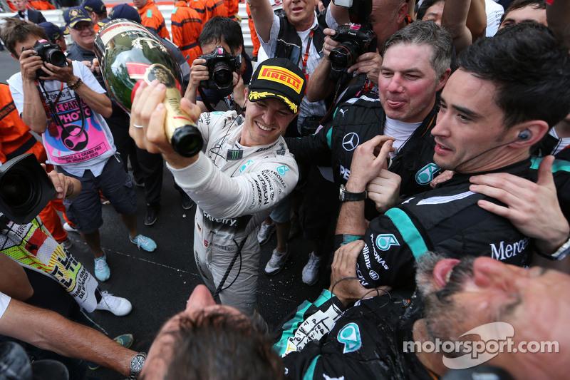 El ganador. Nico Rosberg, Mercedes AMG F1 Team