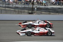 Juan Pablo Montoya, Team Penske Chevrolet et Simon Pagenaud, Team Penske Chevrolet