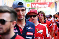 Кими Райкконен, Ferrari на параде пилотов