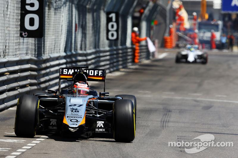 Ніко Хюлкенберг, Sahara Force India F1 VJM08 без переднього крила