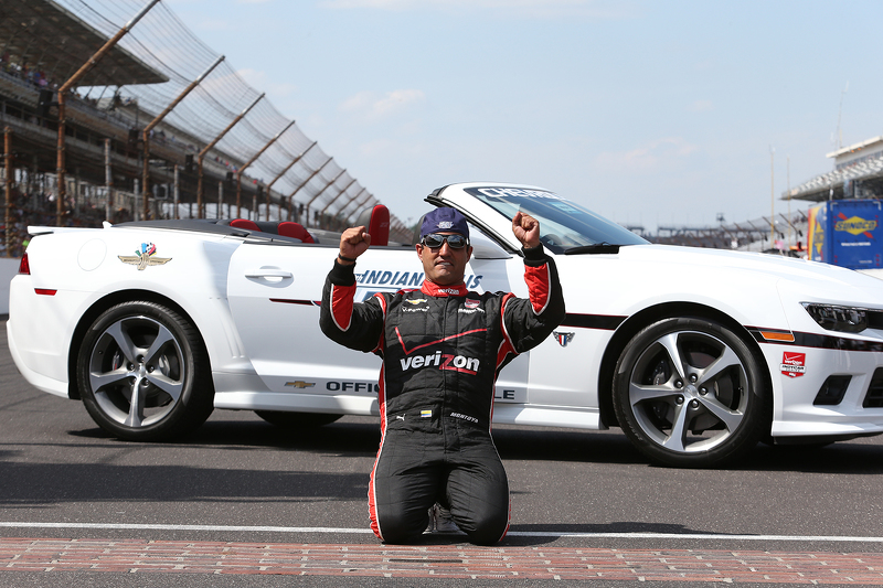 Juan Pablo Montoya, de Penske Chevrolet