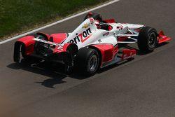 Damages Juan Pablo Montoya, Team Penske Chevrolet