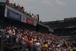 Les fans à Indianapolis
