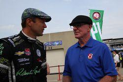 Townsend Bell, Dreyer and Reinbold Racing Chevrolet et Derek Daly