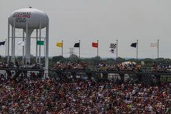 Les fans à l'Indianapolis Motor Speedway