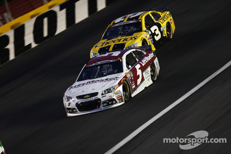 Kasey Kahne, Hendrick Motorsports, Chevrolet, und Austin Dillon, Richard Childress Racing, Chevrolet