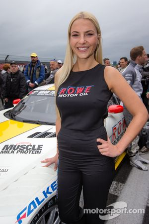 Rowe Racing grid girl