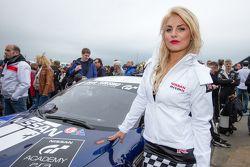 Nissan GT Academy grid girl