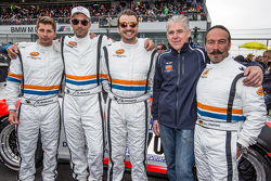 #70 Teichmann Racing Porsche 997 GT3 Cup: Dominik Brinkmann, Alex Autumm, Marc Hennerici, Don Stephano