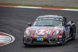 #164 Mathol Racing, Porsche Cayman: Claudis Karch, Ivan Jacoma