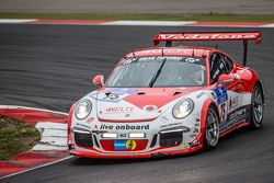 #75 Getspeed Performance Porsche 997 GT3 Cup : Adam Osieka, Dieter Schornstein, Andy Sammers