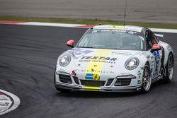 #162 Black Falcon Porsche 911 Carrera : André Kuhn, Christian Schmitz, Helmut Weber