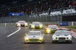 #2 Black Falcon Mercedes-Benz SLS AMG GT3: Yelmer Buurman, Andreas Simonsen, Adam Christodoulou, Ber