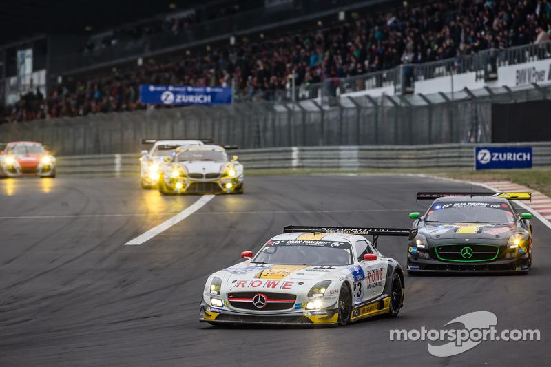 #23 Rowe Racing Mercedes-Benz SLS AMG GT3: Klaus Graf, Christian Hohenadel, Nico Bastian, Thomas Jäg