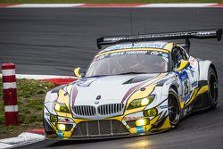 #25 Marc VDS Racing BMW Z4 GT3 : Maxime Martin, Lucas Luhr, Markus Palttala, Richard Westbrook