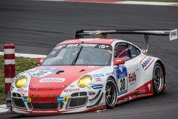 #30 Frikadelli Racing Porsche 997 GT3 R: Sabine Schmitz, Patrick Huisman, Patrick Pilet, Jörg Bergme