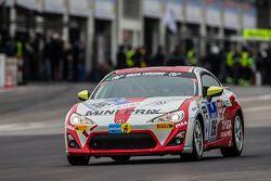 #196 Toyota Swiss Racing Team Toyota GT86: Herbie Schmidt, Benjiamin Albertalli, Thomas Lampert, Manuel Amweg