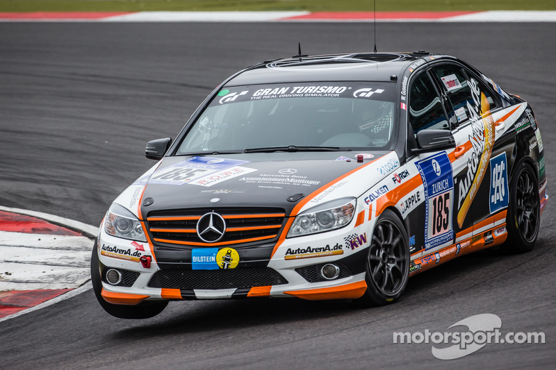 #185 Team AutoArenA Motorsport Mercedes-Benz C23 : Patrick Assenheimer, Marc Marbach, Steffen Fürsch