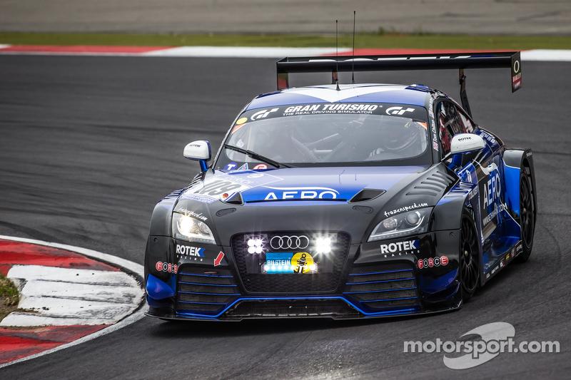 #109 Rotek Racing Audi TT RS: Ross Holland, Tony Richards, David Thilenius