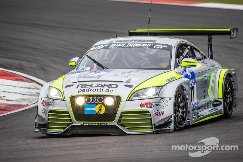 #117 Scuderia Colonia e.V. Audi TT RS: Matthias Wasel, Thomas Wasel, Marcus Löhnert, Elmar Deegner