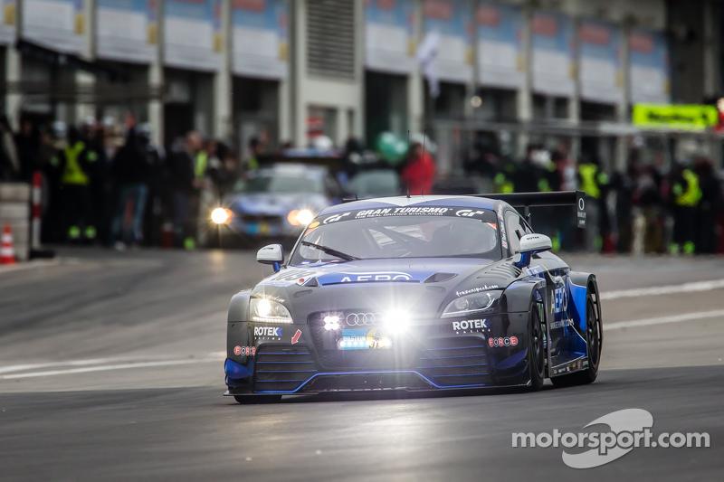 #109 Rotek Racing Audi TT RS : Ross Holland, Tony Richards, David Thilenius