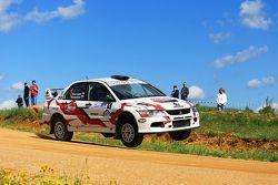 Алексей Негода и Кирилл Ясюков, Mitsubishi Lancer Evolution IX