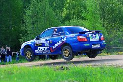 Александр Русанов и Алексей Селиванов, Subaru Impreza