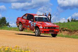 Сергей Пестров и Евгения Рогожина, BMW 316