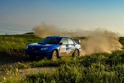 Григорий Трегубов и Матвей Безруков, Subaru Impreza