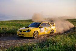 Андрей Мансуров и Василий Гузеев, Subaru Impreza