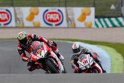 Chaz Davies, Ducati Team et Leon Haslam, Aprilia Racing Team