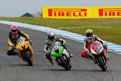 Kenan Sofuoglu, Puccetti Racing Kawasaki et Jules Cluzel, MV Agusta