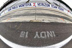 Le stand de Juan Pablo Montoya