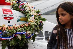Juan Pablo Montoya's daughter