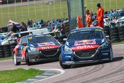 Andrew Jordan y Davy Jeanney, Team Peugeot Hansen