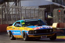 John Bowe in his Touring Car Masters Mustang